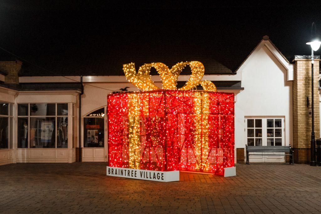 Braintree Village gets a festive makeover