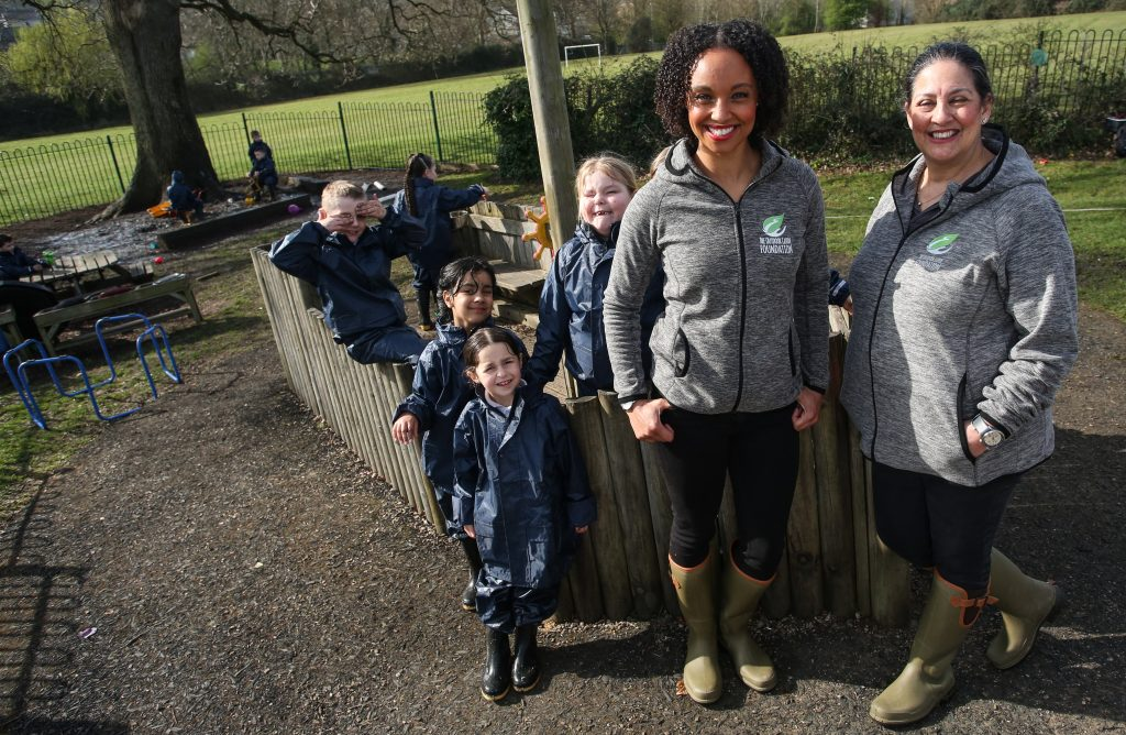 Bristol primary schools is first to receive Waterproof and Wellies kits to aid outdoor learning