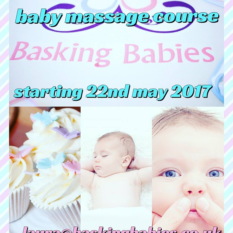 4 week  Basking Baby Massage Course in Hornchurch
