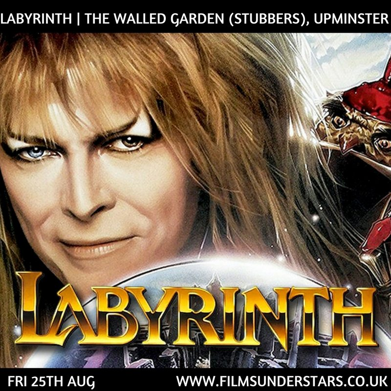 Films Under Stars - Outdoor Cinema showing Labyrinth