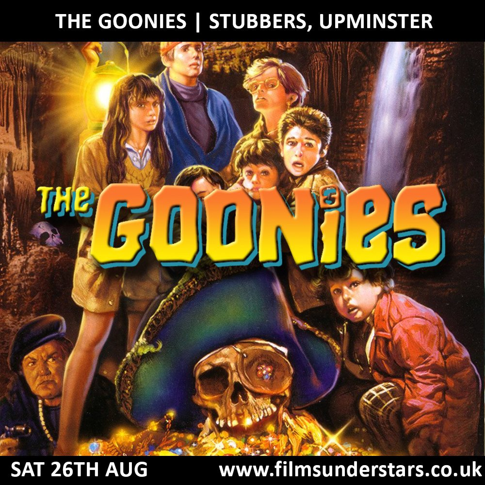 Films Under Stars - Outdoor Cinema showing The Goonies