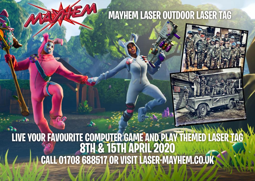 Fortnite Laser Tag