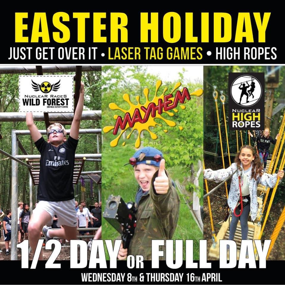 Easter Holidays Laser Tag