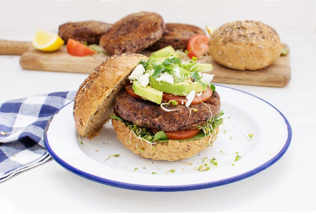 Organix Beetroot Burger