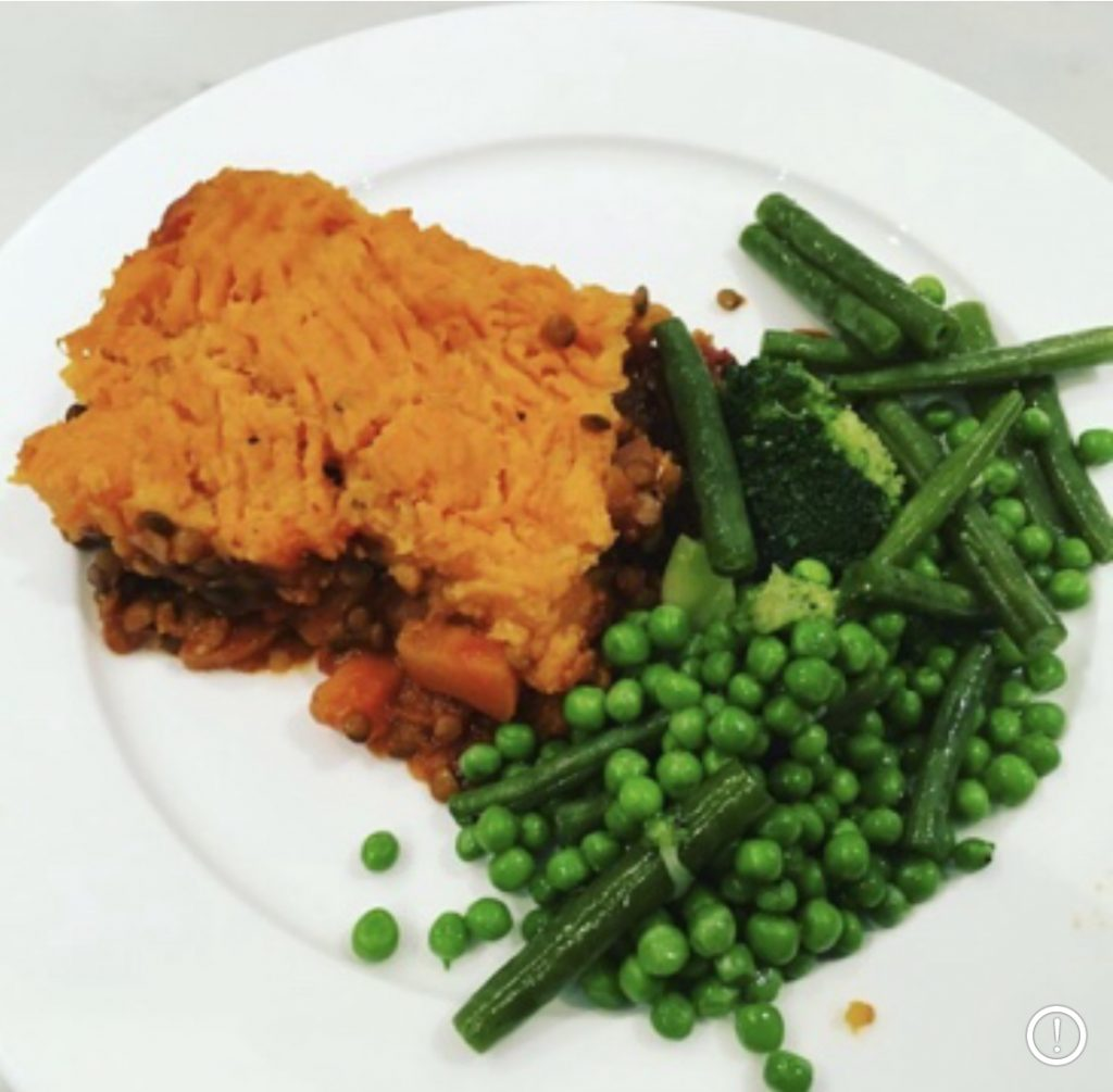 Plant Based Shepherds Pie