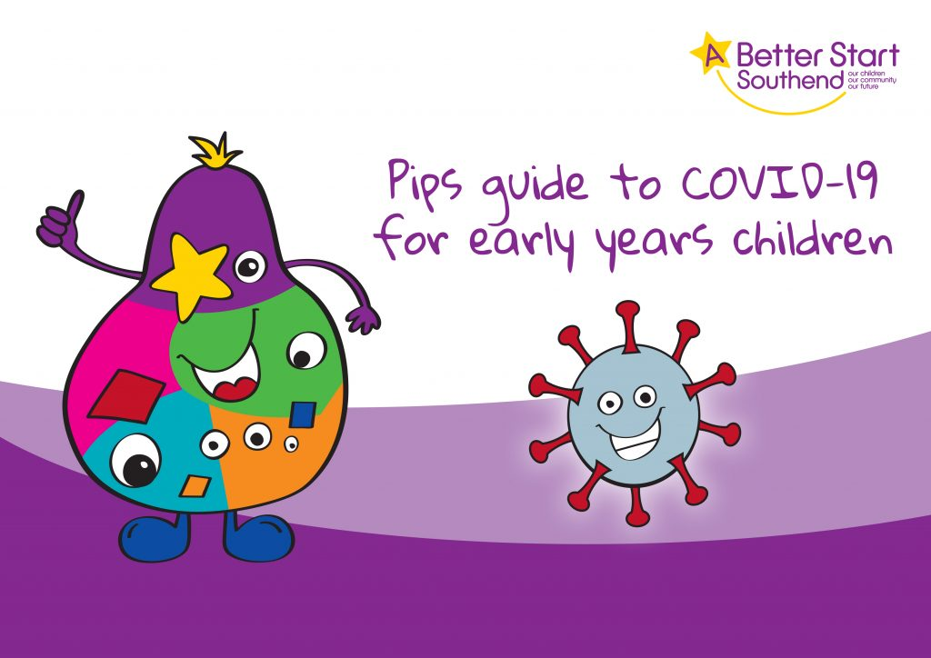 Pip's Guide to Covid-19 for Early Years Children